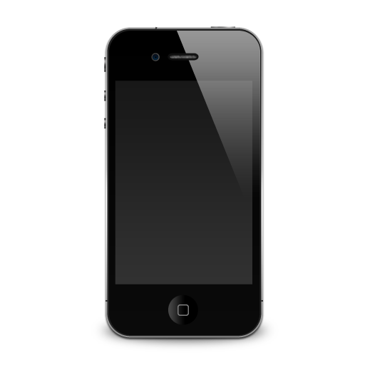 iPhone4图标PNG - 96看吧
